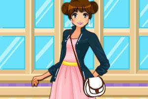 《青春少女甜美风》游戏画面1