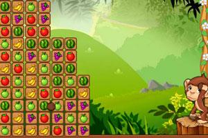 《吃水果的猴子》游戏画面1