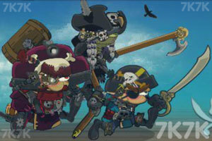 《海盗大乱斗中文版》游戏画面1