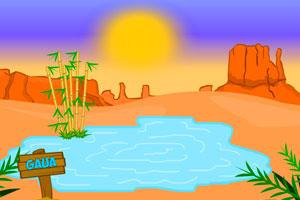 《逃离沙漠腹地》游戏画面1
