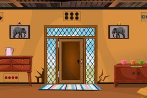 《逃出乡村的房子》游戏画面1