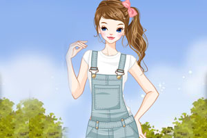 《美丽的花园姑娘》游戏画面1