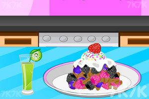《烹饪三浆果脆》游戏画面1