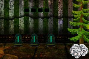 《骷髅乡村逃脱》游戏画面1