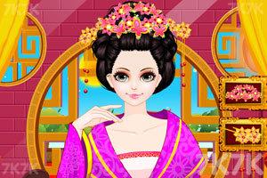 《中国公主发型设计》游戏画面1
