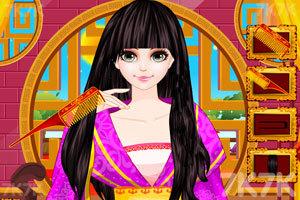 《中国公主发型设计》游戏画面2