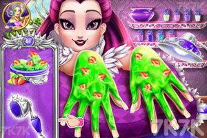 《乌鸦女王指甲水疗》游戏画面2