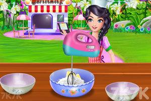 《烹饪夹心蛋糕》游戏画面3