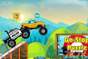 《大卡车狂飙赛》游戏画面3