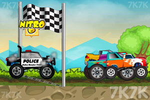《大卡车狂飙赛》游戏画面5