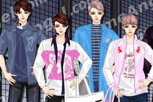 韩国时尚男模