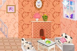 冰雪公主娃娃屋设计