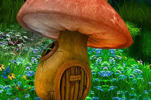 《蘑菇村庄逃脱》游戏画面1