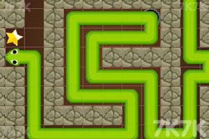 《贪吃蛇洞穴逃生》游戏画面2