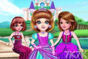 《小公主的城堡》游戏画面1