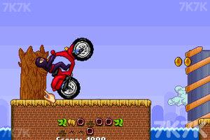 《忍者骑摩托》游戏画面2