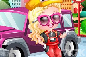 《可爱宝贝当司机》游戏画面1