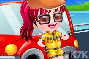 《可爱宝贝当司机》游戏画面2