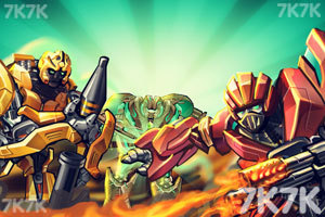 《狂暴重装机甲无敌版》游戏画面5