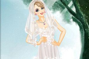 新娘的奢侈婚纱