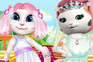 安吉拉和凯丽新娘大赛