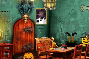 《万圣节古堡逃脱》游戏画面1