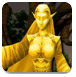 逃離女神雕像