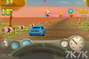 《海岸赛车大奖赛无敌版》游戏画面2