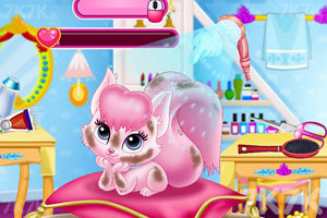 《公主和猫的生活》游戏画面2