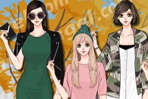 《韩版时尚秋装》游戏画面1