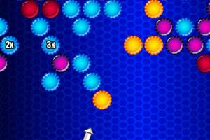 《彩虹圆球泡泡龙》截图1