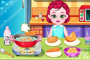 《宝贝做早饭》截图4