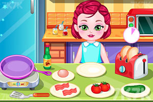 《宝贝做早饭》截图5