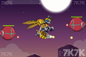 《组装机械黄蜂》游戏画面2