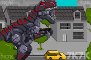 《组装巨型霸王龙》游戏画面3