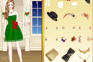 《圣诞装女孩》游戏画面3