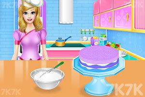 《彩虹蛋糕的制作》游戏画面3