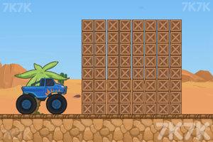 《超级大脚车挑战赛》游戏画面3