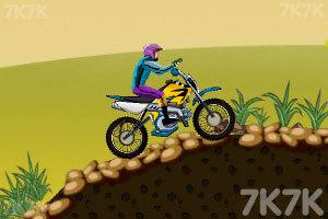 《山地摩托越野》游戏画面2