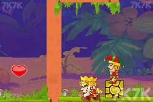《国王和王子回皇宫》游戏画面3