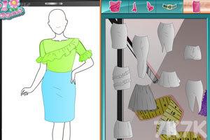 《时尚工作室的新衣》游戏画面2