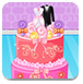 艾莎制作婚礼蛋糕
