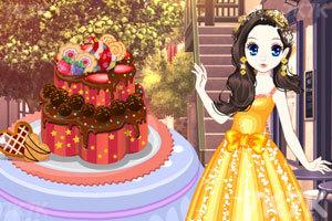 《森迪公主的年会礼服》游戏画面1