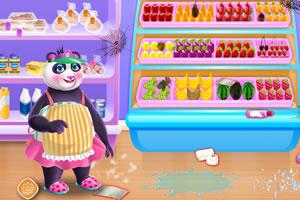 熊猫开超市