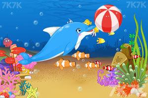《海豚表演馆》游戏画面1