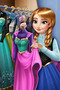 安娜公主的衣柜