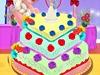 艾莎的蛋糕装饰
