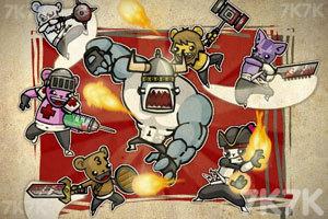 《野蛮熊部落中文无敌版》游戏画面1