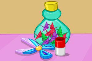 折纸鹤的女孩