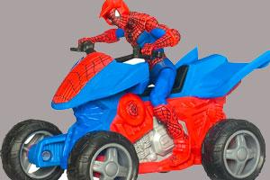 《蜘蛛侠四驱摩托拼图》截图1